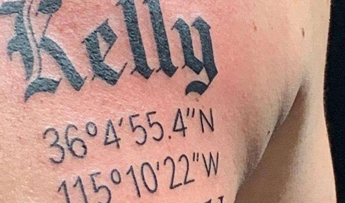 Charles Caperton tattoo by Hart & Huntington Tattoo Co. Las Vegas