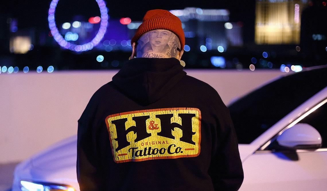 Tattoo artist, Steven Banegas