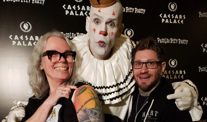 Puddles Pity Party, Eric Alvino, and Marney