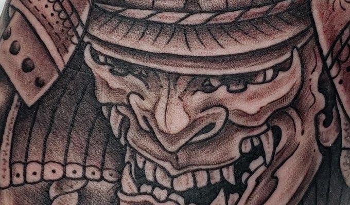 H&H Tattoo Las Vegas client Parker Cooper